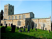SP6989 : St. Andrew's church, Foxton by Jonathan Billinger