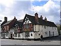 SO9570 : Ye Olde Black Cross Public House, Bromsgrove by Roy Hughes