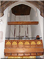 TM3556 : Bell Tower interior of St.Peter's Church, Blaxhall by Adrian Cable