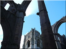 SE2768 : Arches and pillars, Fountains Abbey by Peter Barr