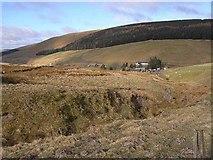 NT8814 : Uswayford Farm by Oliver Dixon