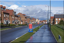 SP2663 : New housing in Warwick by Colin Craig