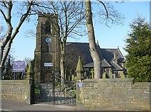 SE0726 : Christ Church, Mount Pellon, Ovenden by Humphrey Bolton