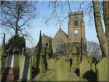 SE0726 : Christ Church, Pellon, Ovenden by Humphrey Bolton