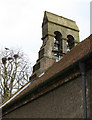 TA1458 : The bell turret, Lissett by Peter Church