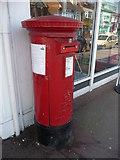 SZ0894 : Bournemouth : Winton, Wimborne Road Postbox by Lewis Clarke