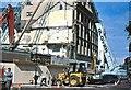 J3374 : Demolition of Robb's, Belfast by Albert Bridge
