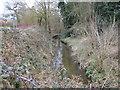 SU8871 : Bull Brook in Westmorland Park, Bracknell by Nigel Cox