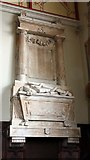 TQ4655 : St Martin's Church, Brasted, Kent - Wall monument by John Salmon