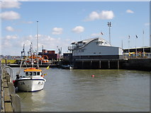 TM2532 : Lifeboat station, Harwich by Oxymoron