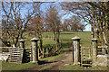 NY7147 : Fine gateway by Helen Wilkinson