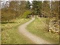 SD8633 : Footpath, Rowley Park by Alexander P Kapp