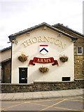 SD8632 : Thornton Arms, Sign by Alexander P Kapp
