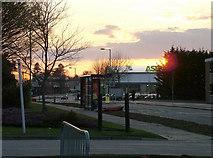 TL8364 : Last sunset over Asda under construction by John Goldsmith