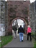 J2764 : Approaching Castle Garden by Kenneth  Allen