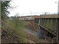 NS3965 : A761 Road Bridge, Bridge of Weir by wfmillar