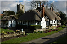 SP1452 : Ten Penny Cottage, Welford on Avon by Philip Halling