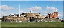 TR3752 : Deal Castle, Deal, Kent by Judith Bennett