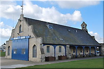 TR3751 : Walmer Lifeboat Station, The Strand, Walmer, Deal by Judith Bennett
