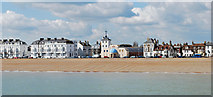 TR3752 : The Time Ball museum and seafront from the pier, Deal by Judith Bennett