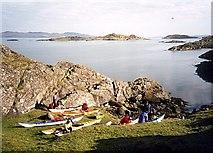 NR7185 : Port Bealach nan Gail by Andy Waddington