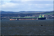 NT1977 : Causeway to Cramond and incoming tanker by Mike Pennington