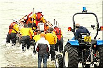 J3729 : Newcastle lifeboat called out (3) by Albert Bridge