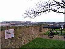 NU0052 : Fisher's Fort  (also known as the Six Gun Battery) by Barbara Carr