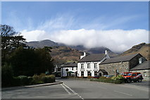 SD3097 : The Crown, with a cloud-covered Coniston Old Man behind by David Long