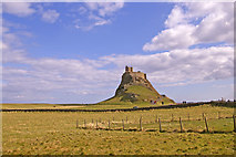 NU1341 : Lindisfarne Castle, Holy Island, Northumberland by Christine Matthews