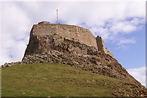 NU1341 : Lindisfarne Castle, Holy Island, Northumberland by Christine Matthews