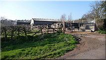 SO9875 : Beacon Farm. by Mike Dodman