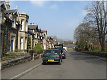 NT2440 : A street scene heading in to Peebles by James Denham