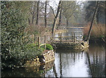 TM1645 : Lake in Christchurch Park by Andrew Hill