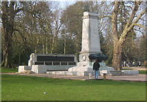 TM1644 : War memorial in Christchurch Park by Andrew Hill