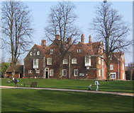 TM1644 : Christchurch Mansion by Andrew Hill