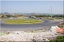 SU4726 : Hockley Link roundabout by Peter Facey