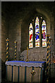 NU1241 : Side Chapel, St Mary the Virgin, Holy Island by Christine Matthews