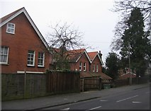 SU8693 : Houses in Priory Road by Sandy B