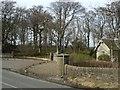 NO5103 : Main entrance to Balkaskie by James Allan
