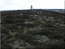 SK3068 : Harland South trig point 2998 by Chris Wimbush