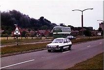 SJ5687 : Penketh Tannery Fire by Brian Balfe