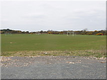 T0007 : Playing field with soccer pitches at Kilmore by David Hawgood