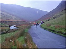 NY2014 : The retreat the day after the night before - Honister Pass by Nick R