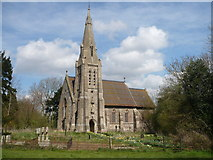 TQ9258 : The church of St. Catherine, Kingsdown by pam fray
