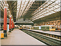 SJ8497 : Piccadilly station, platforms 1-4 (1988) by Stephen Craven