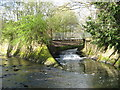 SP0683 : The Bourn Brook Joins the River Rea, Cannon Hill Park by Roy Hughes