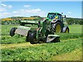 NT0236 : Mowing for silage by James T M Towill