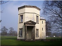 SJ9921 : Tower of the Winds in Shugborough Estate by Raymond Knapman