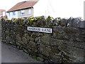 NU1242 : Sandham Lane, Holy Island, Northumberland by Christine Matthews